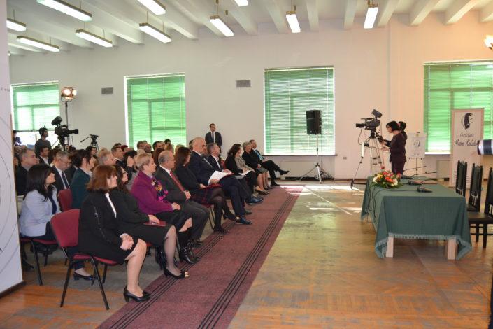Director of National Library of Albania, Prof. Dr. Persida Asllani