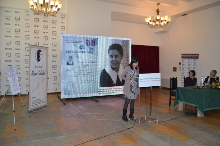 "Dr. Simonetta Ceglie: ""A joyful life of dreams""- the years at ""La Sapienza"" of Musine Kokalari through memories and documents"